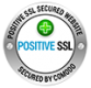 Secured by Comodo Positive SSL